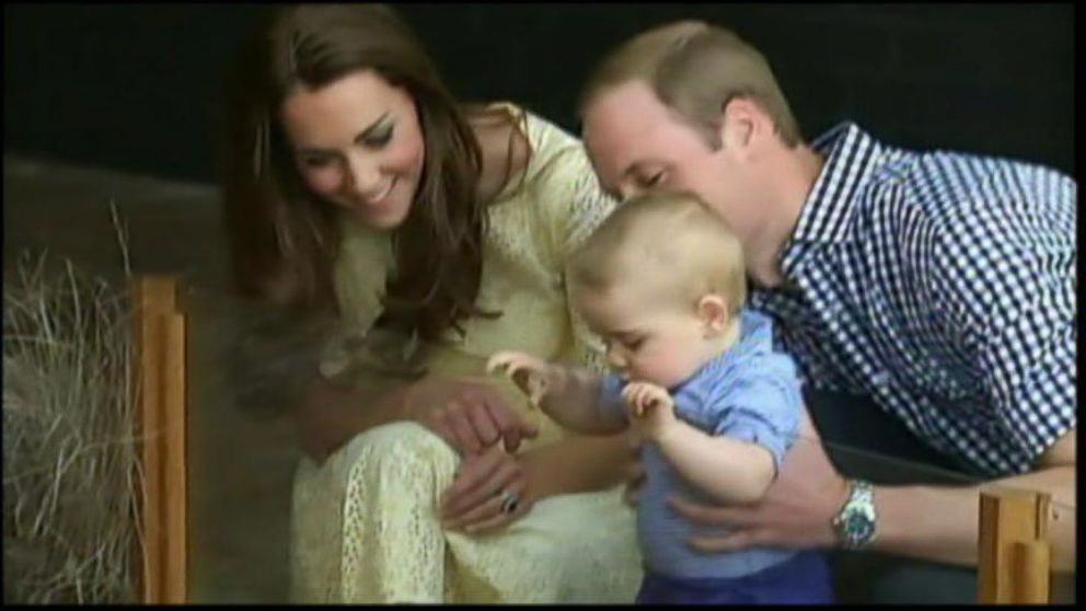 VIDEO: All eyes were on baby George this year as he traveled to Australia, learned to walk and landed a magazine cover.