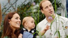 VIDEO: The newest member of the royal family turns 1.