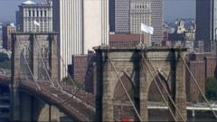 VIDEO: NYPD Attempts to Solve White Flag Mystery at Brooklyn Bridge