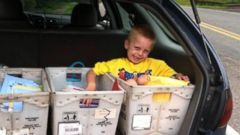 VIDEO: Boy Battling Cancer Receives Over 15,000 Birthday Cards