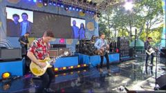 "VIDEO: The rock band performs the Grammy-nominated hit live on ""GMA."""