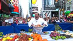 VIDEO: Using #GMAEMERILGRILLS fans tweeted some of their favorite summer grills.