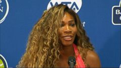 VIDEO: Serena Williams Talks About Medical Scare
