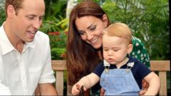 VIDEO: Prince George Learns to Swim