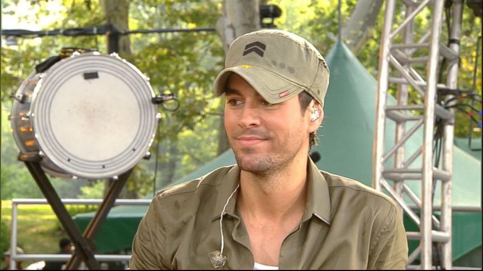 Enrique Iglesias Chats about His New Album, Sex and Love