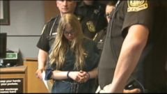 VIDEO: Judge will decide if one of the two 12-year-old girls accused of stabbing their friend to death is fit to stand trial.