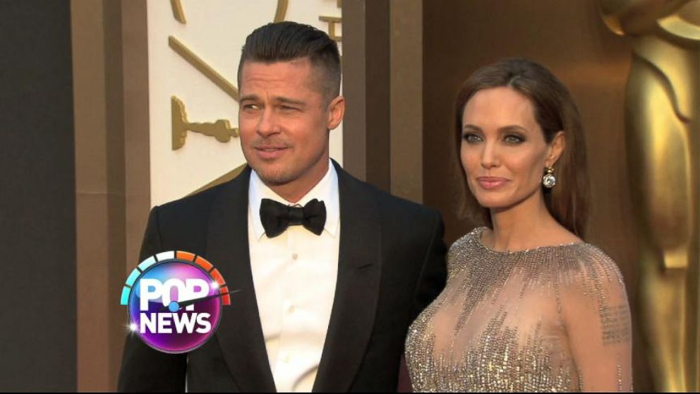 Brad Pitt and Angelina Jolie Exchange Handwritten Love Letters