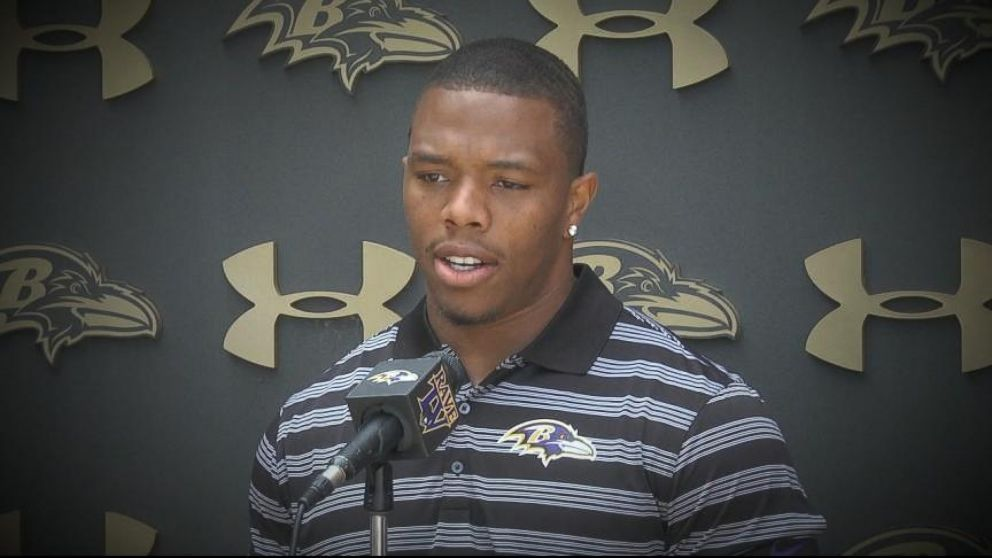 Ray Rice Publicly Apologizes for Assault on Wife