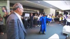 VIDEO: CEO Gets Epic Sendoff from Colleagues
