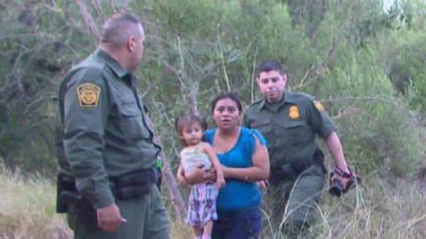 VIDEO: Border Patrol struggles to round up the flood of people trying to escape violence in Central America.