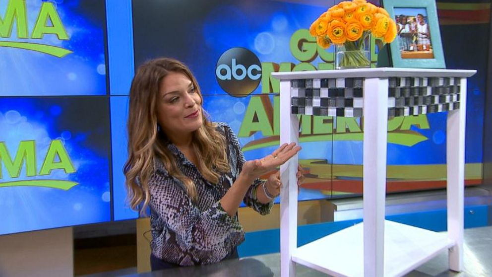 Diy Project How To Make Your Own Tiled Nightstand Abc News