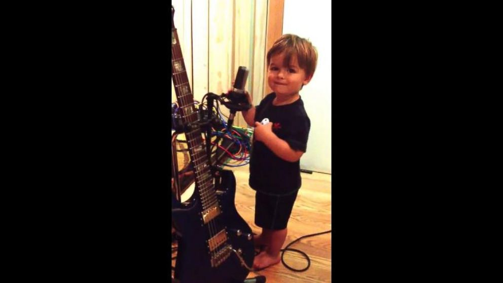 VIDEO: One-year-old Ethan Conrad gives a rocking rendition of his ABCs.