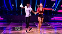 VIDEO: Olympic Bobsledder, Hurdler the 1st to Leave the DWTS Ballroom