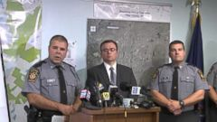 VIDEO: Police Reveal Rifle, AK-47 Clips Found in Search for Eric Frein