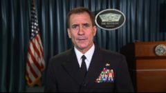 VIDEO: Pentagon spokesman John Kirby discusses recent military efforts being taken against militants in the region.