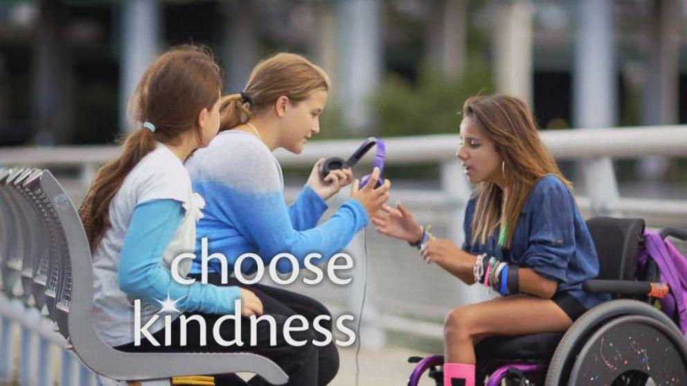 disney channel launches  u0026 39 choose kindness u0026 39  campaign video
