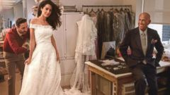 VIDEO: Behind the Scenes of Amal Alamuddins Fairytale Oscar de la Renta Dress Fitting