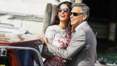 VIDEO: Inside the George Clooney Wedding