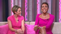 VIDEO: Amy Robach and Robin Roberts Reflect on Breast Cancer Journey