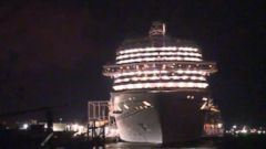 VIDEO: Cruise Ship Docks in Texas After Ebola Scare