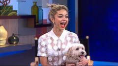 VIDEO: Sarah Hyland and Her Puppy, Barkley, Encourage Pet Adoption