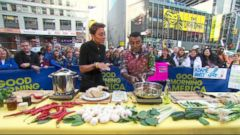 VIDEO: Chef Marcus Samuelsson Shows You How He Cooks at Home