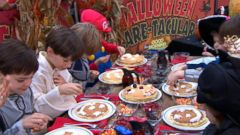 VIDEO: Kids Decorate Scary Face Pancakes on GMA