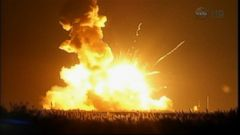 GMA 10/29: Rocket Heading to Space Station Explodes After Launch