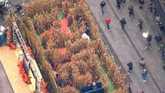 VIDEO: Tim Tebows Terrifying GMA Corn Maze