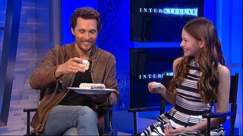 matthew mcconaughey and mackenzie foy discuss