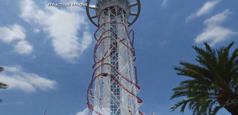 VIDEO: Construction on the 570-foot ride in Orlando, Florida, will begin in 2015.