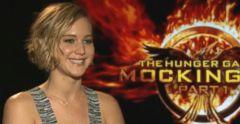 VIDEO: Elizabeth Banks Interviews Jennifer Lawrence, Calls Her Badass