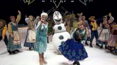VIDEO: The Cast of Disney on Ices Frozen Performs Live on GMA