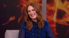 VIDEO: Julianne Moore on Philip Seymour Hoffman, Hunger Games