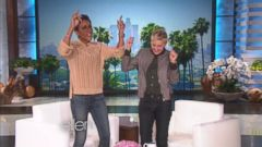 VIDEO: Robin Roberts Plays Holiday Games on Ellen