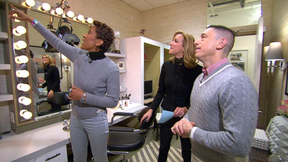Robin Roberts GMA Dressing Room Gets a Makeover