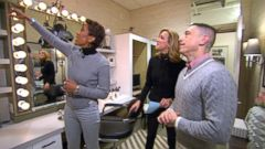 VIDEO: Robin Roberts GMA Dressing Room Gets a Makeover