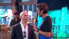 VIDEO: Pitbull Talks Globalization in GMA Chat