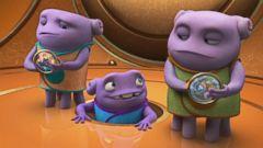 VIDEO: Sneak Peek at New Animated Movie, Home
