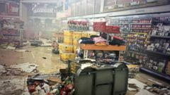VIDEO: Businesses Destroyed by Violent Demonstrations in Ferguson, Mo.