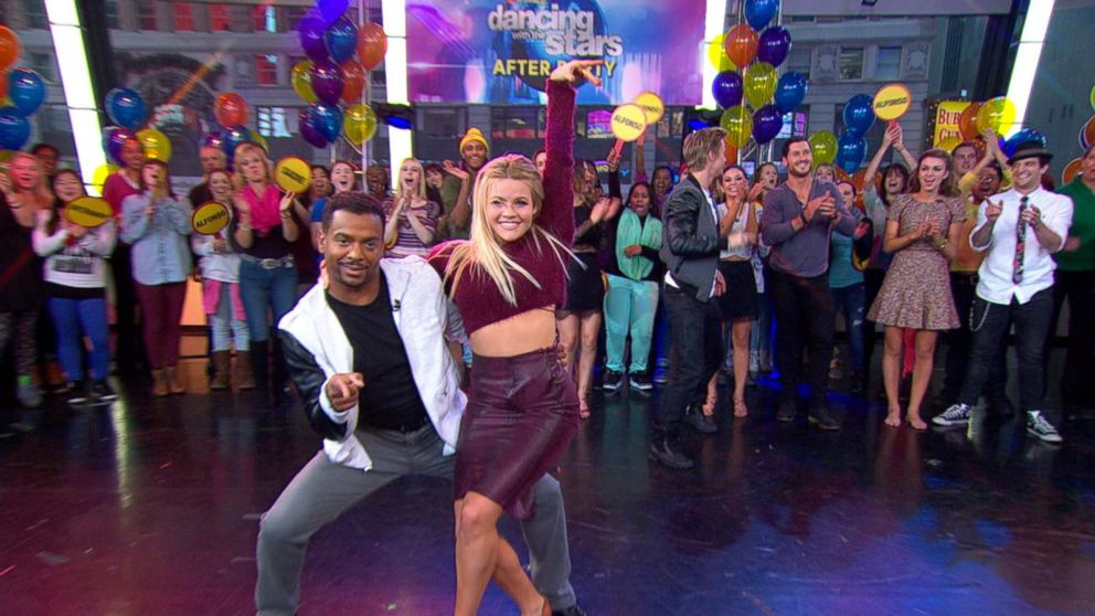 Alfonso Ribeiro, Witney Carson Perform at DWTS After Party
