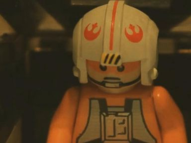 A Lego Recreation of Star Wars: Episode VII - The Force Awakens Trailer