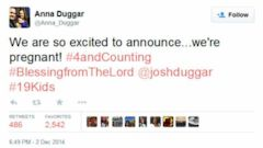 VIDEO: Josh And Anna Duggar Are Expecting Baby Number 4