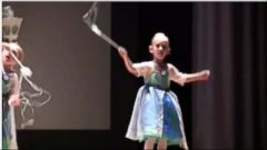 VIDEO: Halle Klusmann danced with every bit of passion at her dance recital.