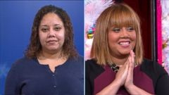 VIDEO: Pre-School Teacher Gets Holiday Makeover of a Lifetime on GMA