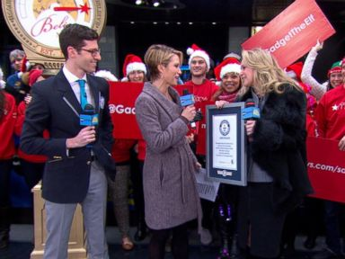 VIDEO: Macys Believe Campaign Breaks Guinness World Record