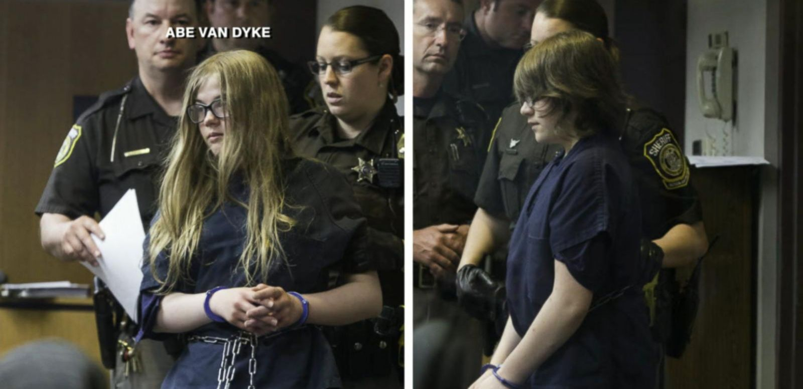 VIDEO: Slender Man Stabbing Suspects Ruled Competent to Stand Trial