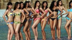 VIDEO: Miss World Pageant Cutting Swimsuit From Competition