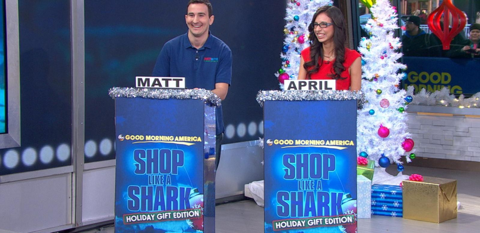 VIDEO: 'Shark Tank Your Life' Holiday Pitch-Off
