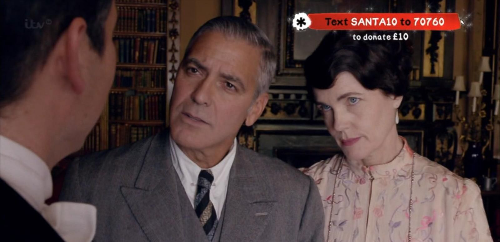 VIDEO: George Clooney's 'Downton Abbey' Appearance Detailed